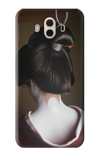Printed Japan Geisha Neck Huawei Honor 5X Case