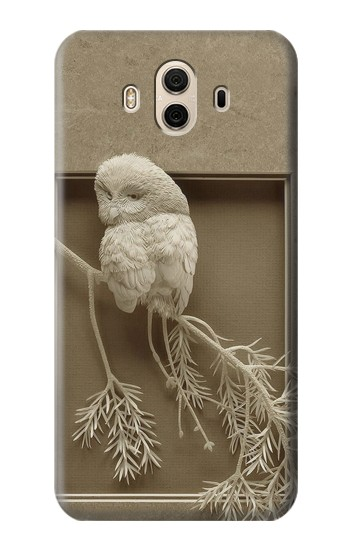 Printed Paper Sculpture Owl Huawei Honor 5X Case