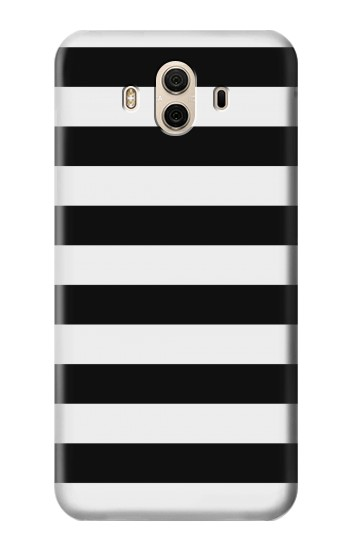 Printed Black and White Striped Huawei Honor 5X Case