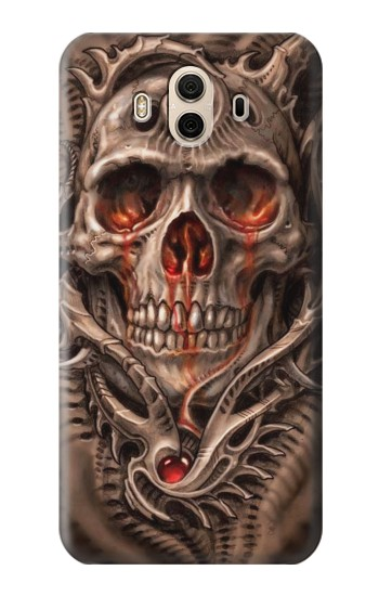 Printed Skull Blood Tattoo Huawei Honor 5X Case