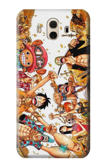 Printed One Piece Straw Hat Luffy Pirate Crew Huawei Honor 5X Case