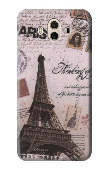 Printed Paris Postcard Eiffel Tower Huawei Honor 5X Case