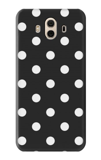 Printed Black Polka Dots Huawei Honor 5X Case