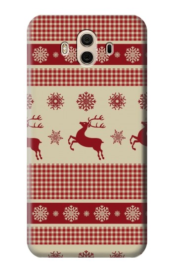 Printed Christmas Snow Reindeers Huawei Honor 5X Case