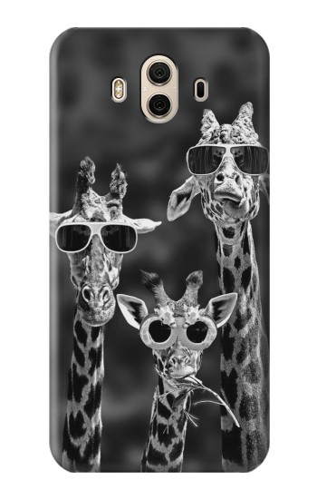 Printed Giraffes With Sunglasses Huawei Honor 5X Case