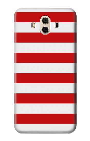 Printed Red and White Striped Huawei Honor 5X Case