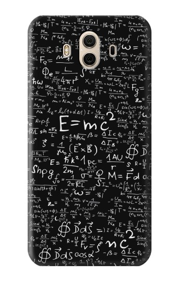 Printed Mathematics Physics Blackboard Equation Huawei Honor 5X Case