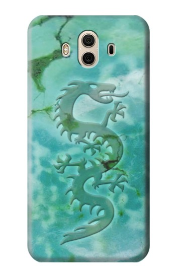 Printed Chinese Dragon Green Turquoise Stone Huawei Honor 5X Case