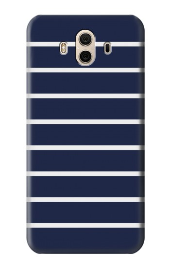 Printed Navy White Striped Huawei Honor 5X Case