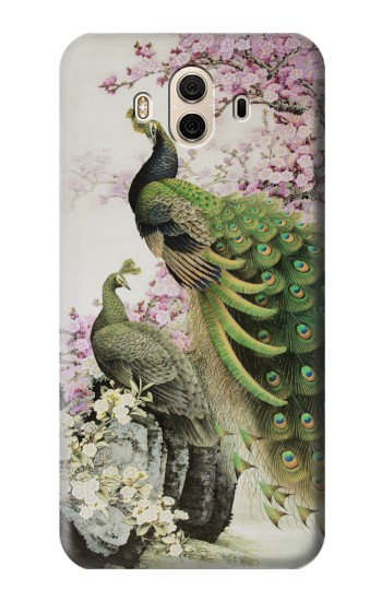 Printed Peacock Chinese Brush Painting Huawei Honor 5X Case