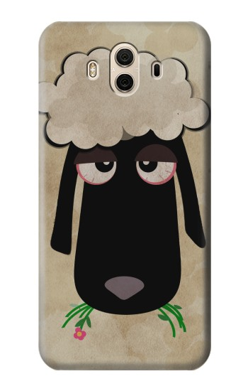 Printed Cute Cartoon Unsleep Black Sheep Huawei Honor 5X Case
