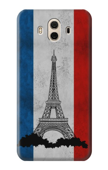 Printed Vintage France Flag Eiffel Tower Huawei Honor 5X Case
