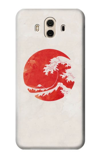 Printed Waves Japan Flag Huawei Honor 5X Case
