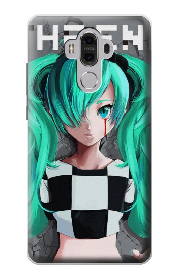 Printed hatsune miku The End Huawei Mate 8 Case