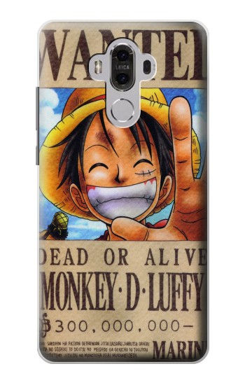 Printed One Piece Monkey D Luffy Wanted Poster Huawei Mate 8 Case