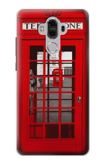 Printed Classic British Red Telephone Box Huawei Mate 8 Case