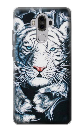 Printed White Tiger Huawei Mate 8 Case