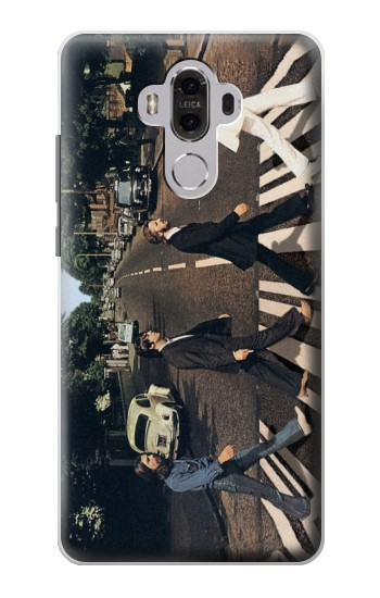 Printed The Beatles Abbey Road Huawei Mate 8 Case