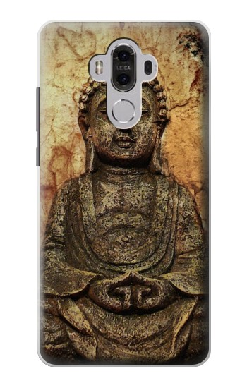 Printed Buddha Rock Carving Huawei Mate 8 Case