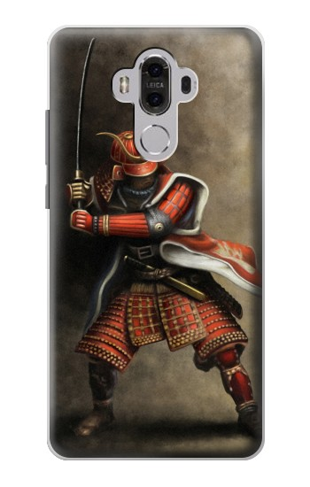 Printed Japan Red Samurai Huawei Mate 8 Case