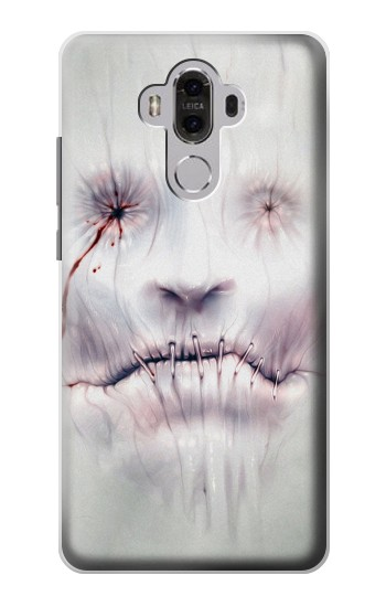 Printed Horror Face Huawei Mate 8 Case