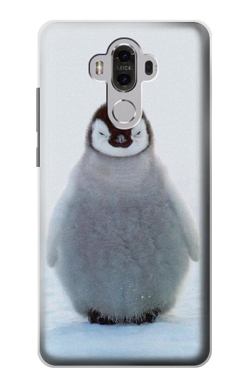 Printed Penguin Ice Huawei Mate 8 Case