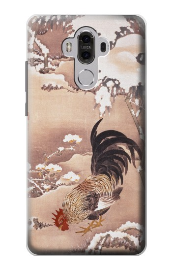 Printed Ito Jakuchu Rooster Huawei Mate 8 Case