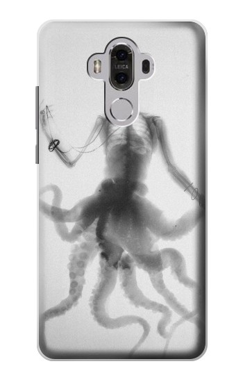 Printed Skull Octopus X-ray Huawei Mate 8 Case