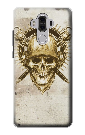 Printed Skull Army Huawei Mate 8 Case