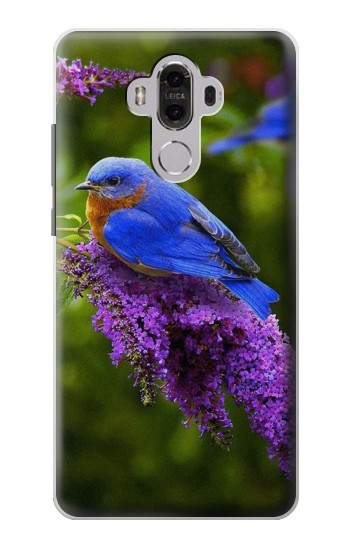 Printed Bluebird of Happiness Blue Bird Huawei Mate 8 Case