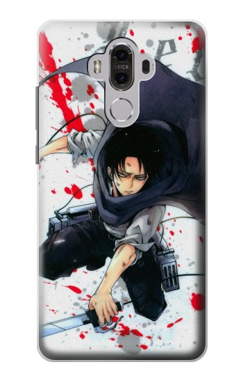 Printed Attack on Titan Rivaille Levi Huawei Mate 8 Case
