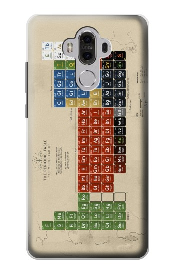Printed The Periodic Table of Middle Earth The Lord of The Rings Huawei Mate 8 Case