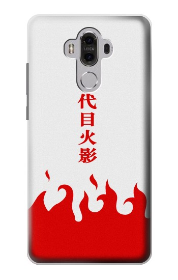 Printed Naruto 7th Hokage Cloak White Huawei Mate 8 Case