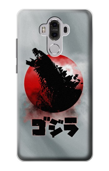 Printed Godzilla Japan Flag Huawei Mate 8 Case