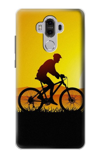 Printed Bicycle Bike Sunset Huawei Mate 8 Case