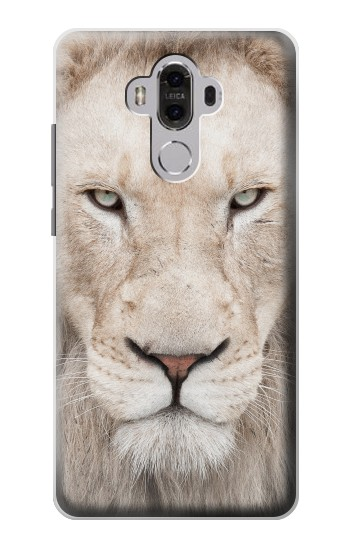 Printed White Lion Face Huawei Mate 8 Case