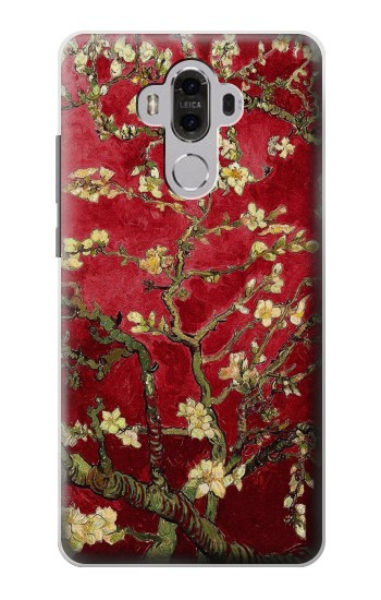 Printed Red Blossoming Almond Tree Van Gogh Huawei Mate 8 Case