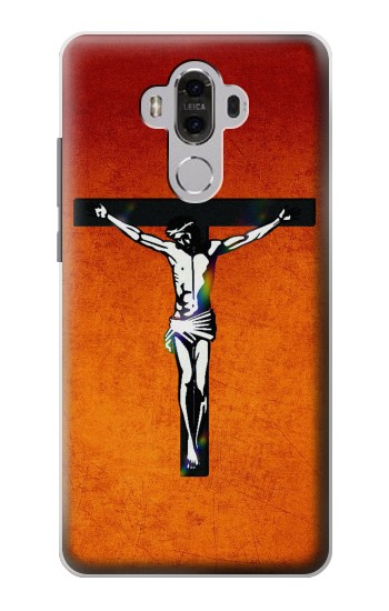 Printed Jesus Christ On The Cross Huawei Mate 8 Case