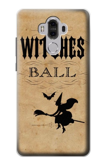 Printed Vintage Halloween The Witches Ball Huawei Mate 8 Case