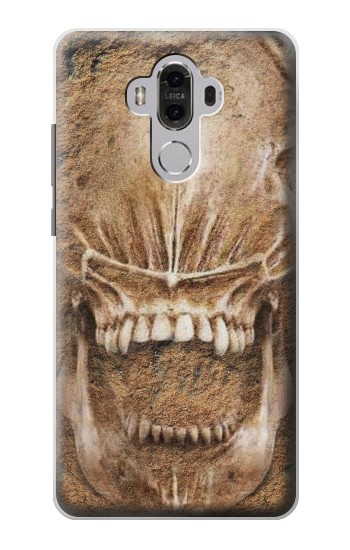 Printed Alien Skull Fossil Huawei Mate 8 Case