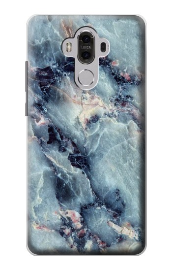 Printed Blue Marble Texture Huawei Mate 8 Case