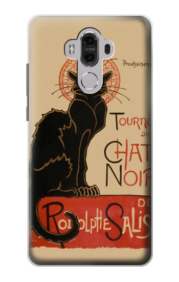 Printed Chat Noir The Black Cat Huawei Mate 8 Case