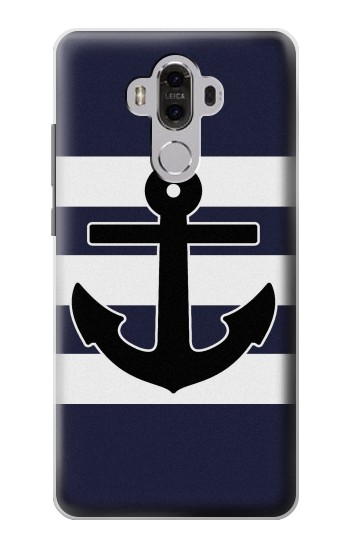 Printed Anchor Navy Huawei Mate 8 Case