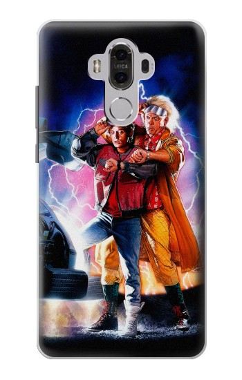 Printed Back to the Future Huawei Mate 8 Case