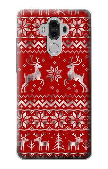 Printed Christmas Reindeer Knitted Pattern Huawei Mate 8 Case