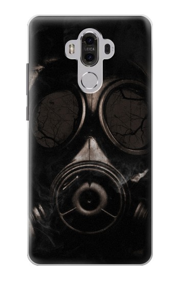 Printed Gas Mask Huawei Mate 8 Case
