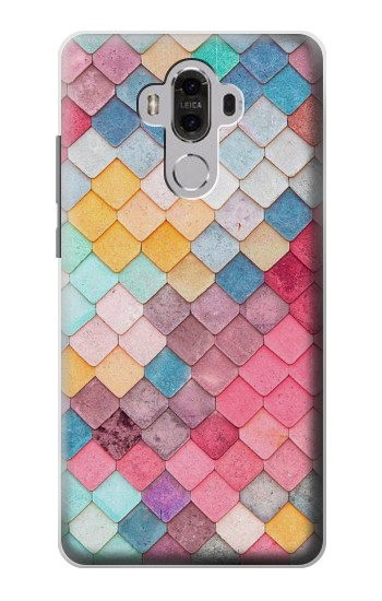 Printed Candy Minimal Pastel Colors Huawei Mate 8 Case