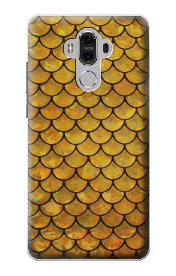 Printed Gold Fish Scale Huawei Mate 8 Case