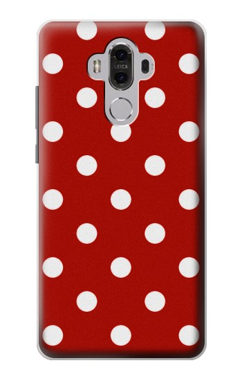 Printed Red Polka Dots Huawei Mate 8 Case
