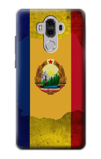 Printed Romania Flag Huawei Mate 8 Case